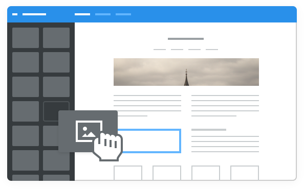 Website builder hosting centar for Weebly drag and drop templates